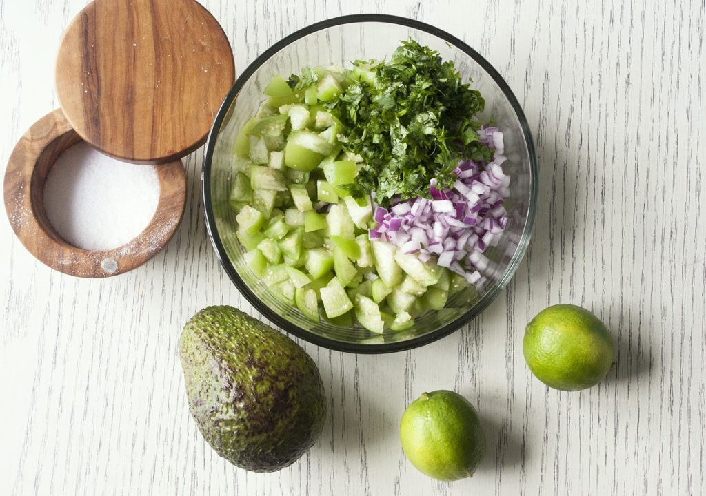 Fresh Tomatillo & Avocado Salsa