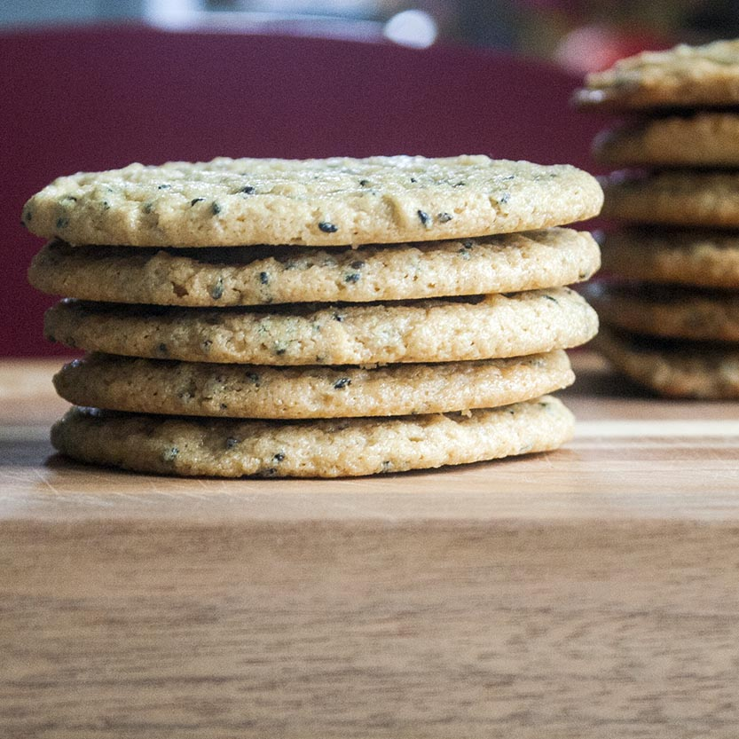Triple Sesame Cookies