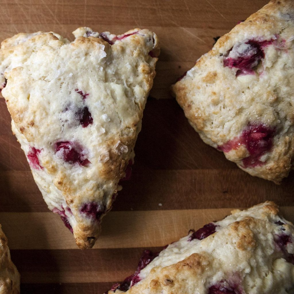 (Fresh) Cranberry Feta Scones
